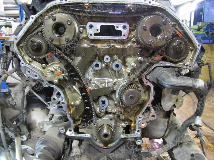 Замена масла в двигателе дастер 4 4